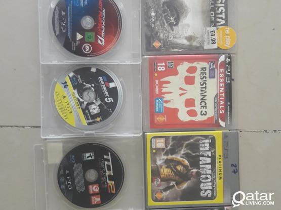 Ps3 CDS for sale (10 CDS)prices in description