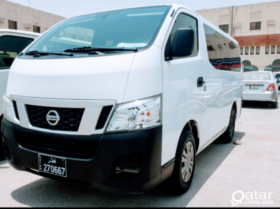 Urvan Hiace With Driver Labor Transport Available