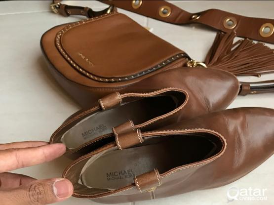Michael Kors Handbag & Leather Boots