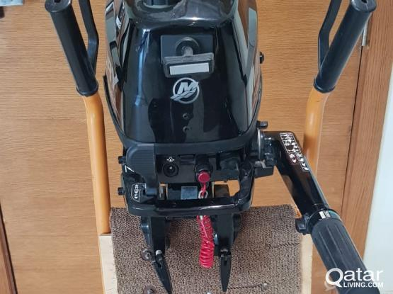 Mercury 5HP 4 stroke Engine 2018 + Mercury 320 Fishing boat