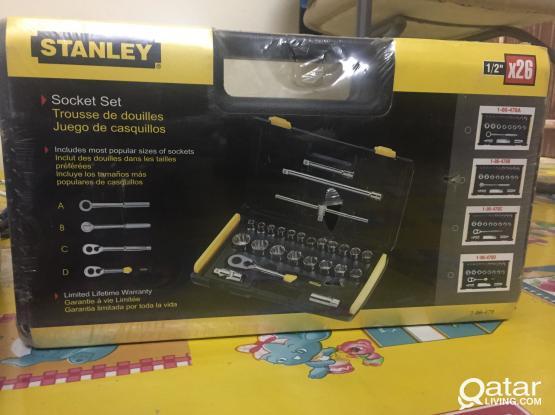 STANLEY SOCKET SET 1/2DR 26PC 12PT AF 86-478