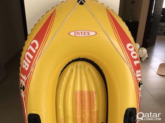 Kids rubber boat