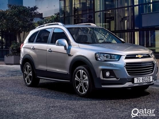 SEVEN SEATER CHEVROLET CAPTIVA & KIA SPORTAGE AVAILABLE FOR RENT ,CALL US 50399150