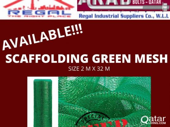 Green Net/ Scaffolding Mesh