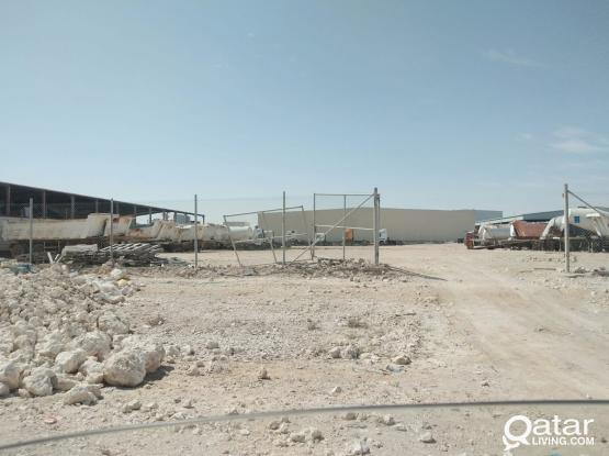 LAND FOR RENT IN INDUSTRIAL AREA 4300 SQMTR