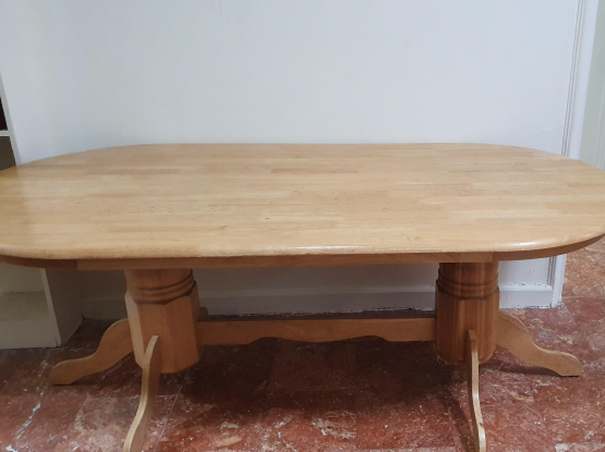 HEAVY DUTY 8 SEATER DINING TABLE