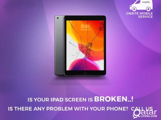I PAD REPAIR AND SERVICE AT YOUR HOME AND OFFICE