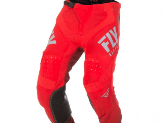 Dirt Bike Pants (FLY Racing) RED size 28