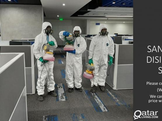 DISINFECTION, SANITIZING, BUILDING DEEP CLEANING SERVICES AGAINST COVID-19