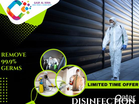 Complete Cleaning & Disinfecting Offer