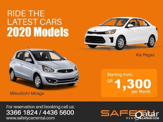 Brand New Cars starts @ 1,300 QR