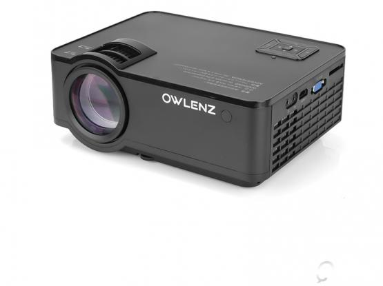 Owlenz SD150 LED Projector -Home Theater/Video Entertainment 2400 Lumens 720p LED Projector