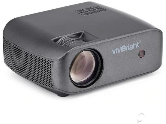 VIVIBRIGHT F10 LCD Home Entertainment Video Projector 2800 Lumens – Black