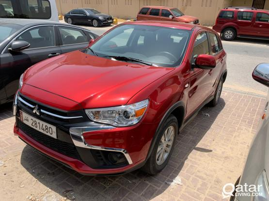 SUV CAR - MITSUBISHI ASX 2019 MODEL @ VERY GOOD RATE