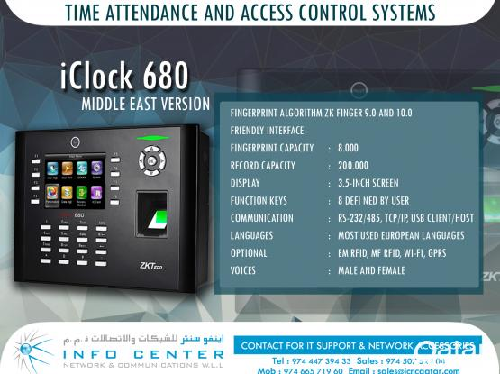 Bio Metric / Face Scanner  Devices For  Time Attendance And Access Control Solutions