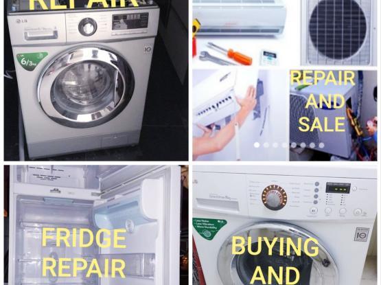 Fridge,washing maching repair
