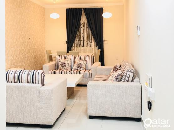 Fully furnished 2 bedrooms apartments available in old airport near lulu , Doha bank