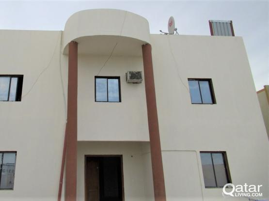 FAMILY OR BACHELOR 1 BHK & SMALL HALL BATHROOM AND KITCHEN IN AIN KHALID