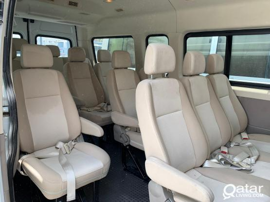 15 SEAT BUS FOR RENT - SHORT & LONG TERM