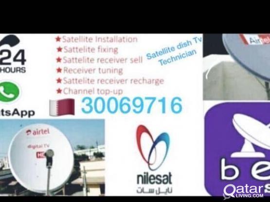Airtel Satellite Dish Tv Internet Wifi Instal&Rpr