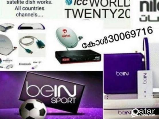 satellite Dish Tv Internet Wifi InstallationRepair