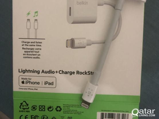 Belkin lightning audio and charger