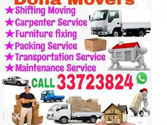 We do Moving Shifting Truck/Pickup available Service just you call/WhatsApp me 33723824,Furniture dismantling,Packing and Transportation Service