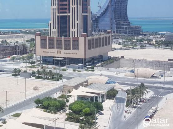 Semi Fitted office to Lease  Marina Lusail