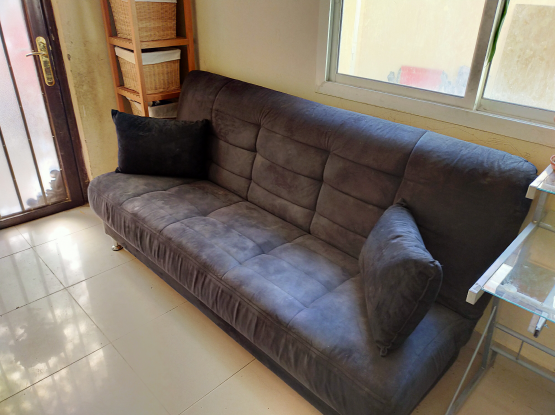Convertable couch / bed / storage (free delivery)