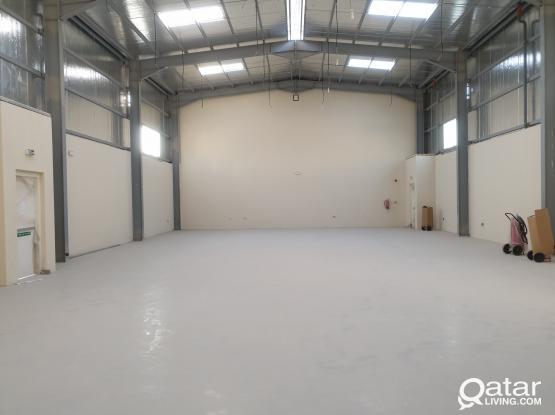 Brandnew foodstuff warehouse