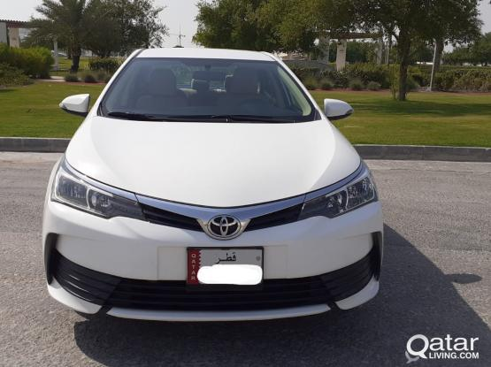 Toyota Corolla XLI 2018