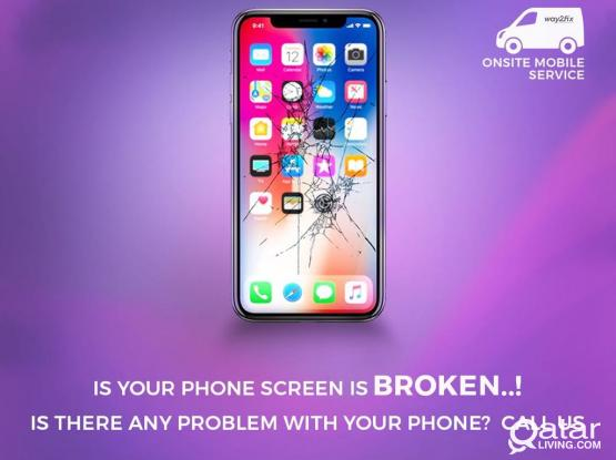 I PHONE SCREEN REPLACEMENT   AT YOUR HOME /OFFICE