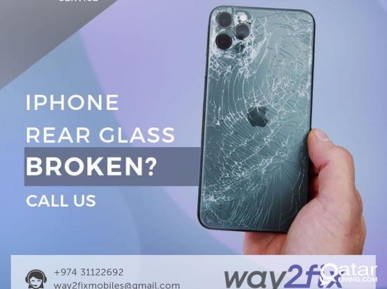 IPHONE REPAIR AND SERVICE SPECIALISED IN BACKGLASS