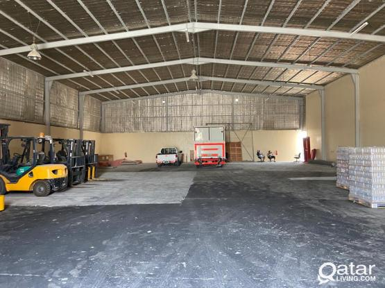 700 SQUARE METER STORE+1000 SQUARE METER LAND WITH 12 ROOMS CAMP FOR RENT IN INDUSTRIAL AREA