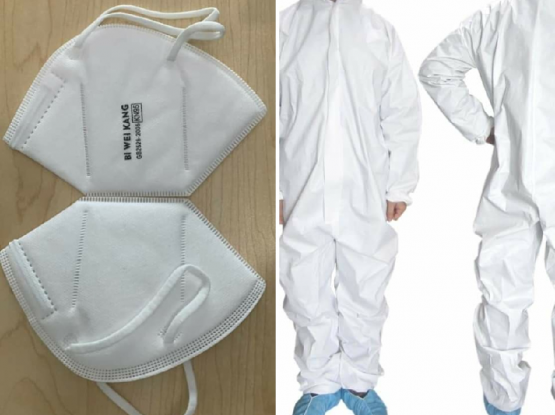 KN95 Masks and Coveralls