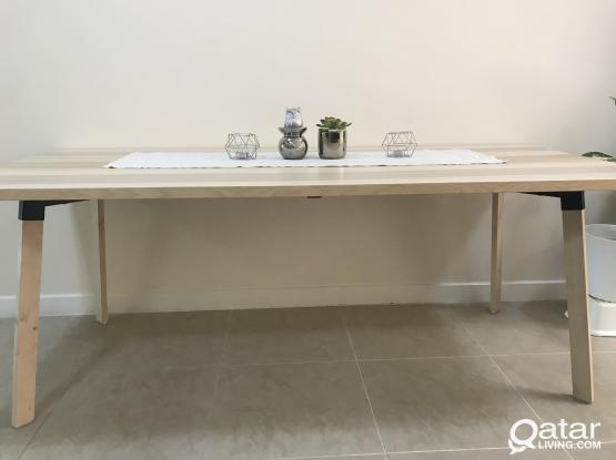 IKEA  YPPERLIG Table 6-8 person