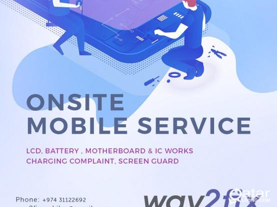 IPHONE SERVICE AT YOUR HOME IN PEARL QATAR  ,DOHA