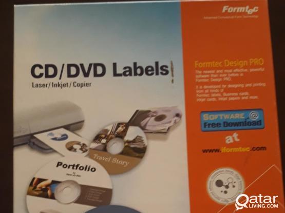 Printable CD labels