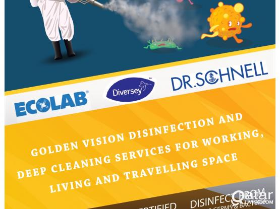 DISINFECTION AND DEEP CLEANING SERVICES