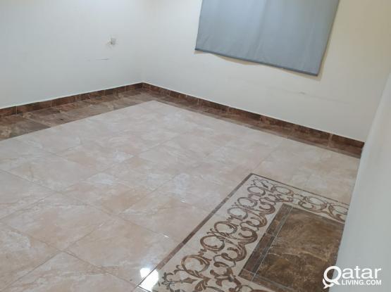 1 BIg bedroom,+ & full bath+ kitchen -AVAILABLE Qr.2100/- ONLY Bin Omran near wadi sail