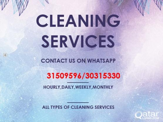 CLEANING SERVICES CONTACT 33235190