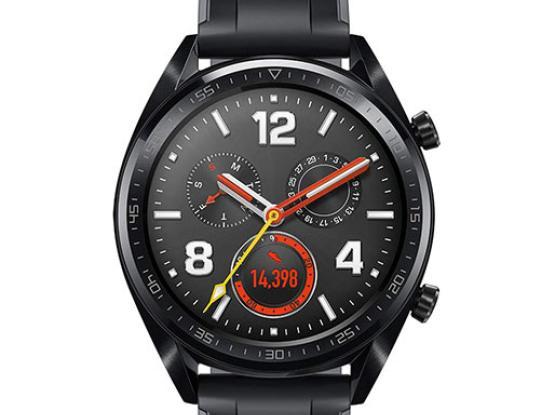 Huawei Watch GT Sport (Black) Fortuna-B19S Black Stainless Steel