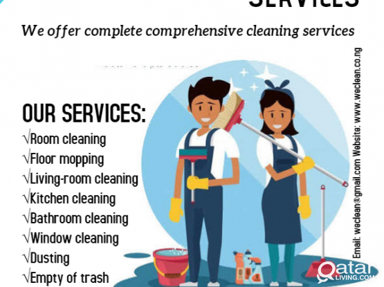 HCS cleaning services