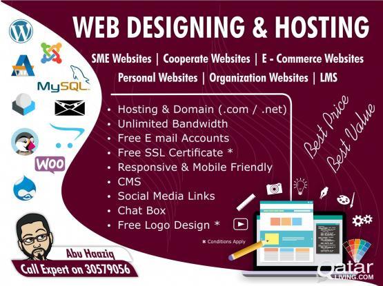 Web Designing and Hosting