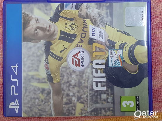 Fifa 2017 PS4 CD hardly used