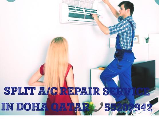 A/c Maintenance Reapai doha Qatar Wakra Call Me 66343689