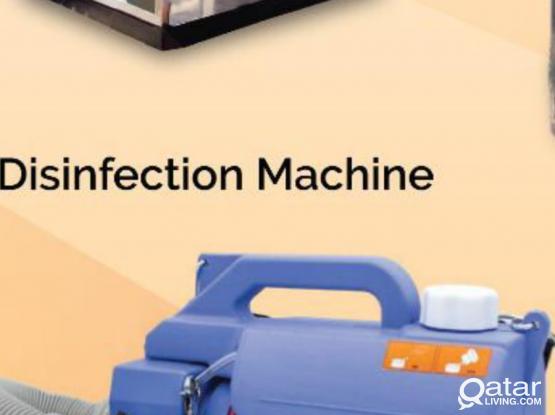 Disinfectant Machine.