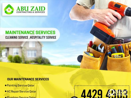 FIRST CLASS MAINTENANCE COMPANY IN QATAR = ABU ZAID CONTRACTING *Platinum*Gold*Silver 55722652