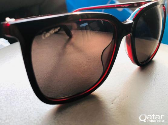 CARTIER CT0004S Shiny black/red