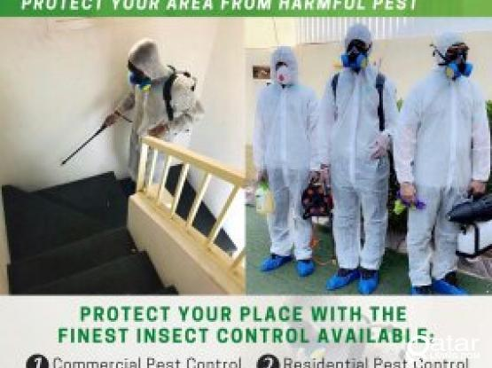 Pest control, disinfection, cleaning services
